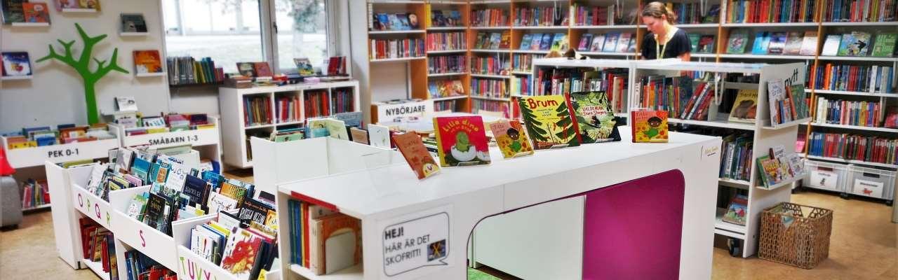 Lindome biblioteks barnavdelning